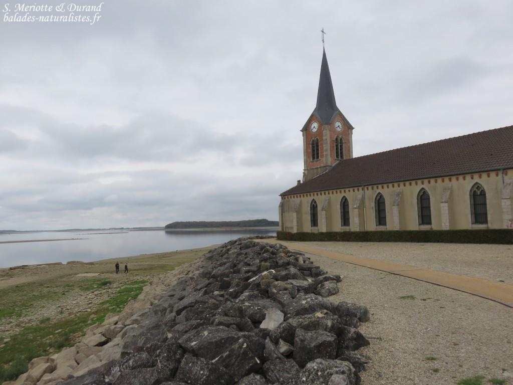 Eglise de Champaubert, Lac du Der
