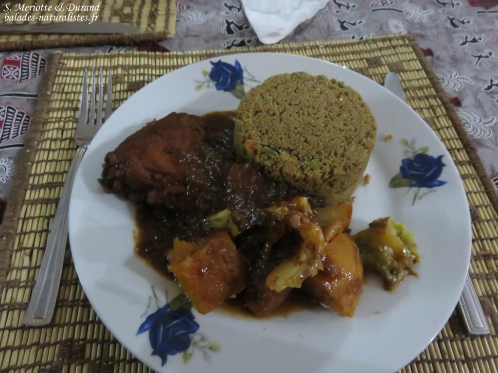 Repas à Ndiagabar, Djoudj
