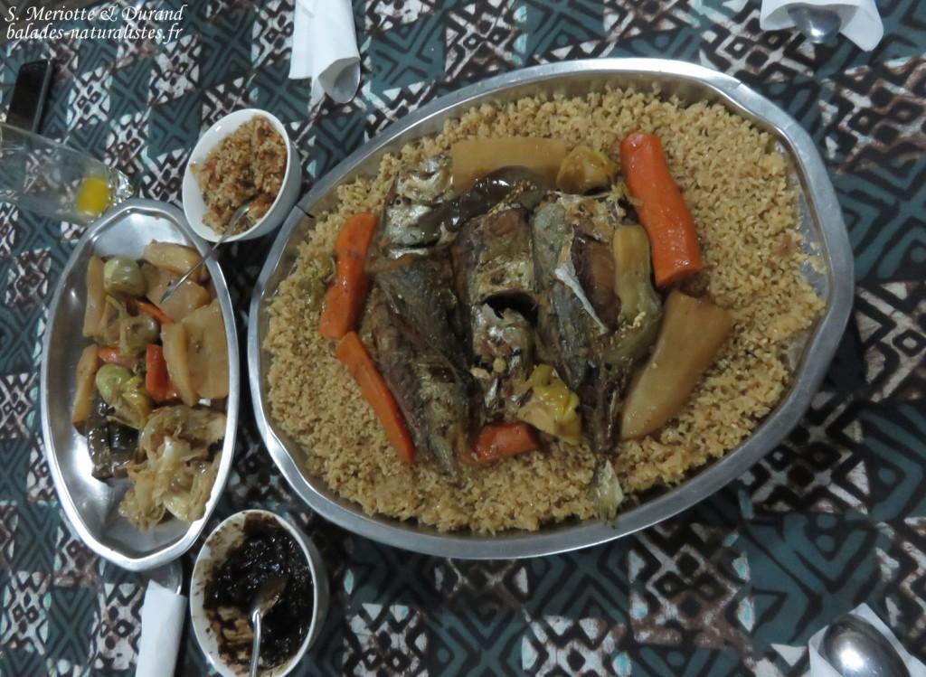 Thieboudienne, le plat national du Sénégal
