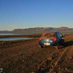 Tour de l'Islande en juillet 2011