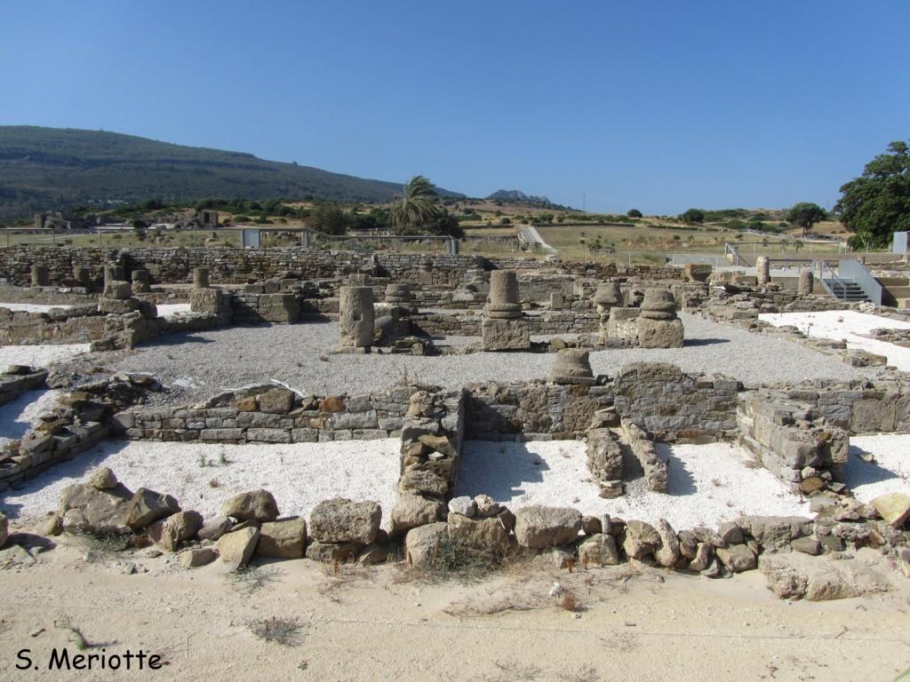 Site archéologique sur la plage de Bolonia