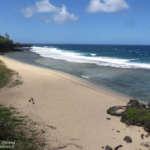 La côte sud de l'île Maurice