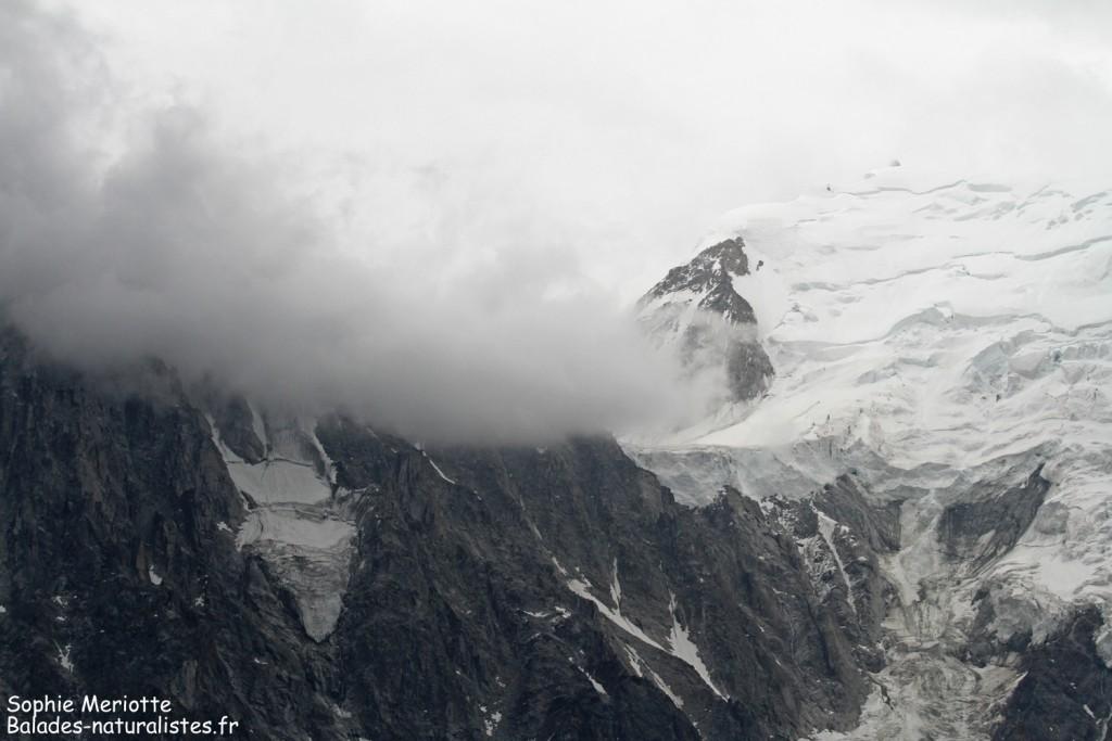 Massif du Mont blanc vu depuis le Brevent