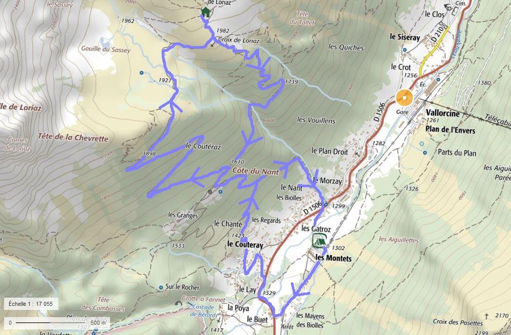 Balade des Montets aux chalets de Loriaz