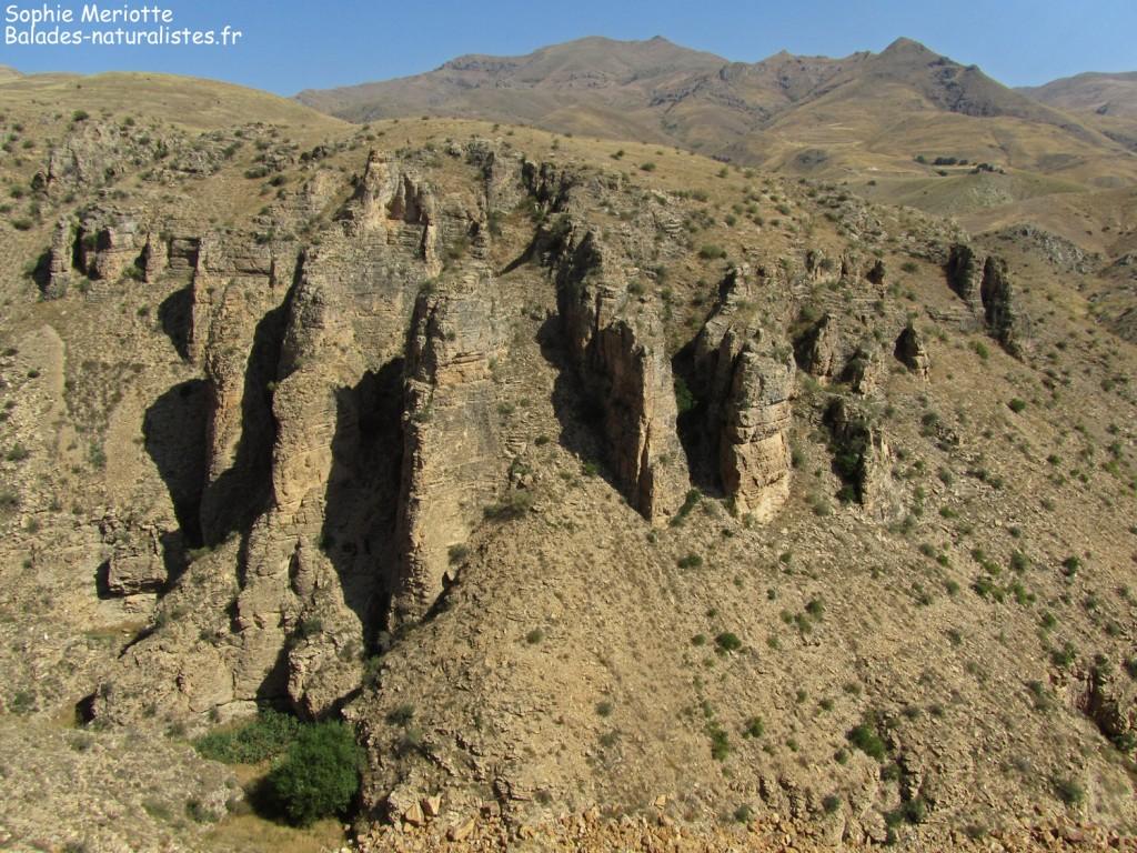 Route entre Lanjar et Védi