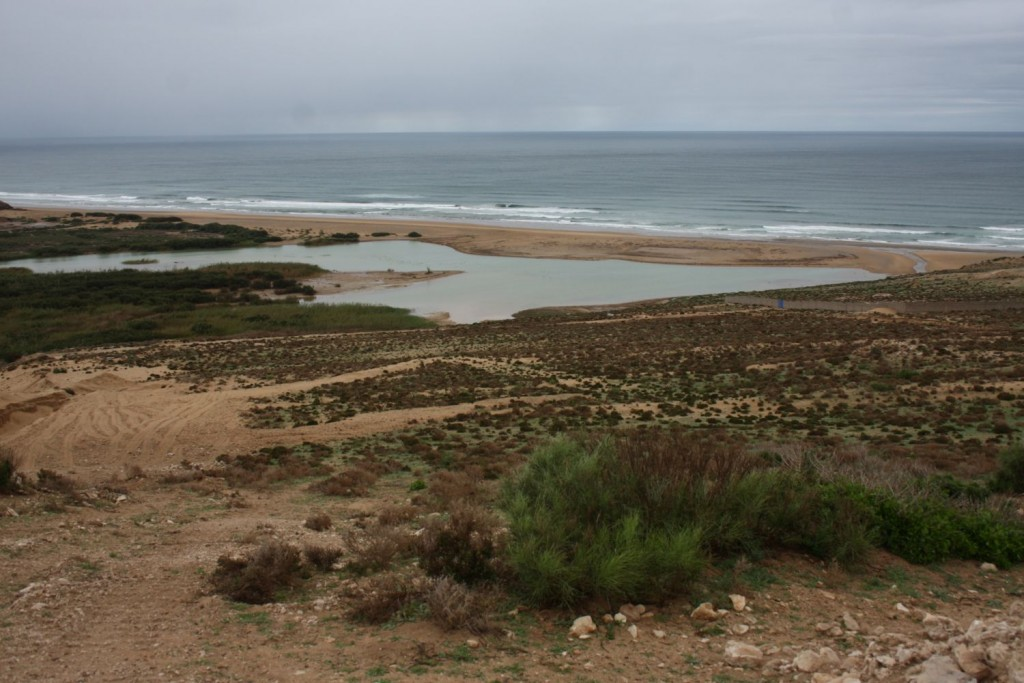 Embouchure de l'Oued à Tamri