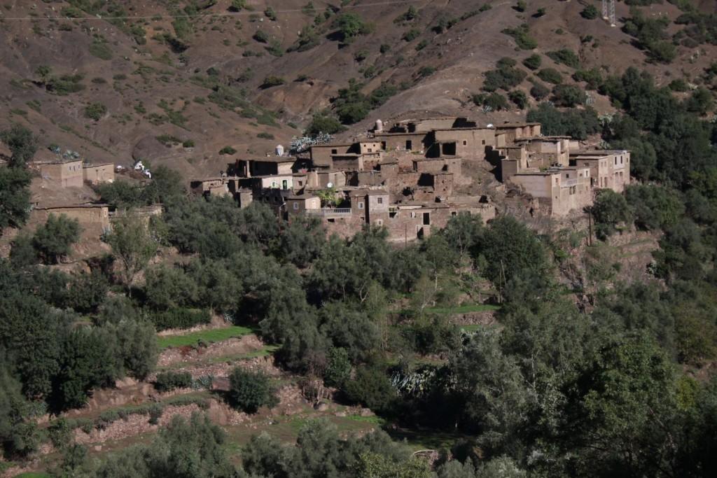 Villages au pied du Mont Oukaimden