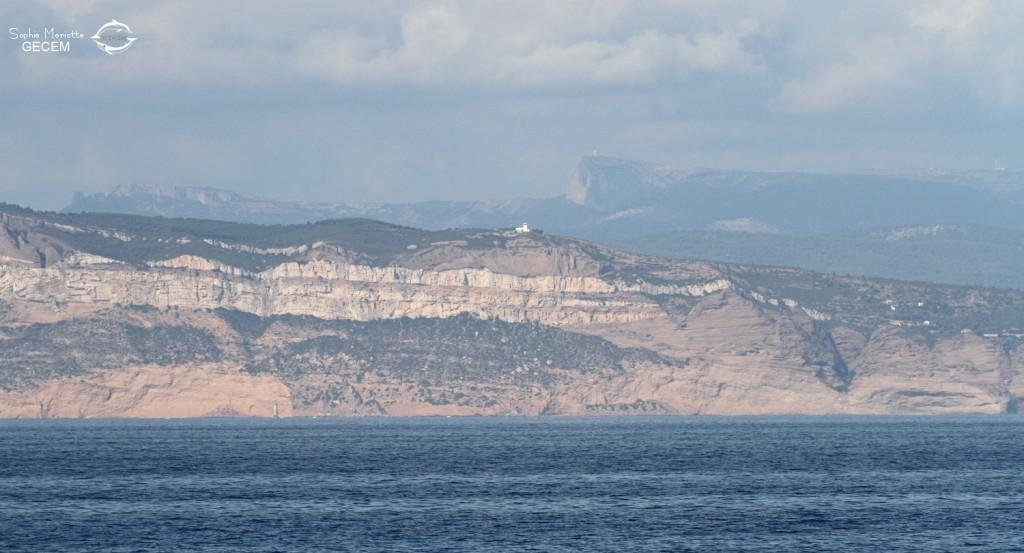 Les falaises de Cap Canaille